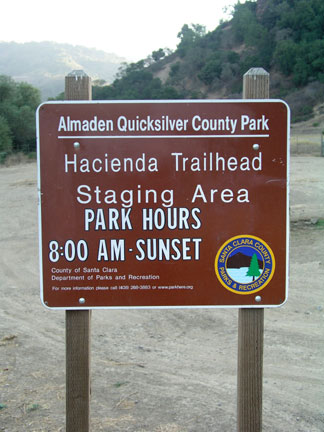 [ Photo of Trailhead sign. ]