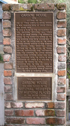 Photo of plaque.