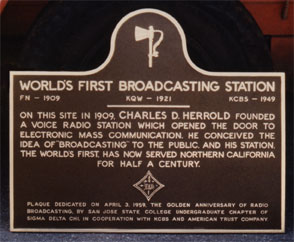 [Photo of SDC plaque.]