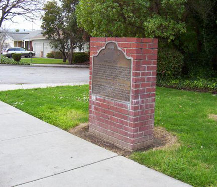 [ Photo of plaque wide. ]