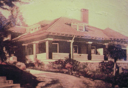 [ Photo of Henry Miller summer home. ]