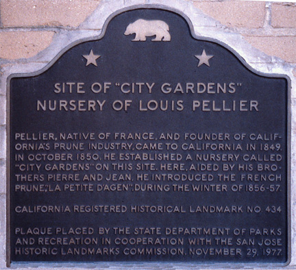 [ Photo of State Registered Historical Landmark Plaque No.434 closeup. ]