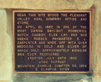 [ Photo of plaque closeup. ]