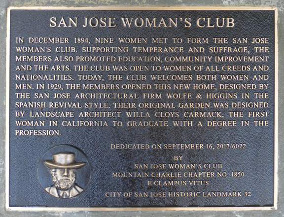 Photo of plaque detail