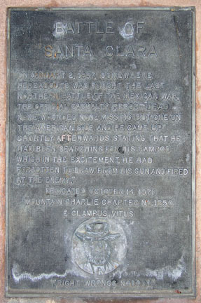 [ Photo of plaque - close. ]